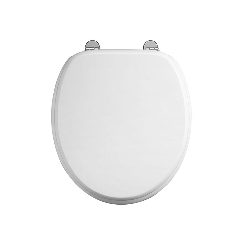 Burlington Standard Gloss White Toilet Seat