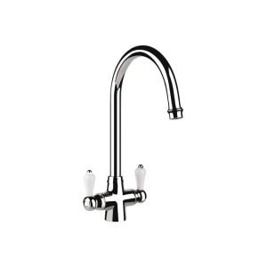 Carron Phoenix Windsor Traditional Kitchen Sink Mixer Tap