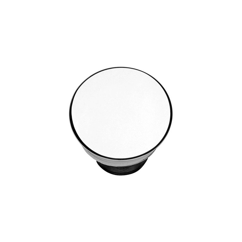 Cifial Unslotted Free Flow Basin Waste Chrome