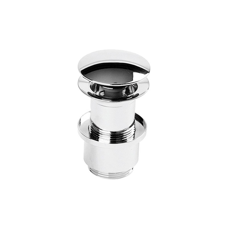 Cifial Deluxe Unslotted Clic-Clac Basin Waste Chrome