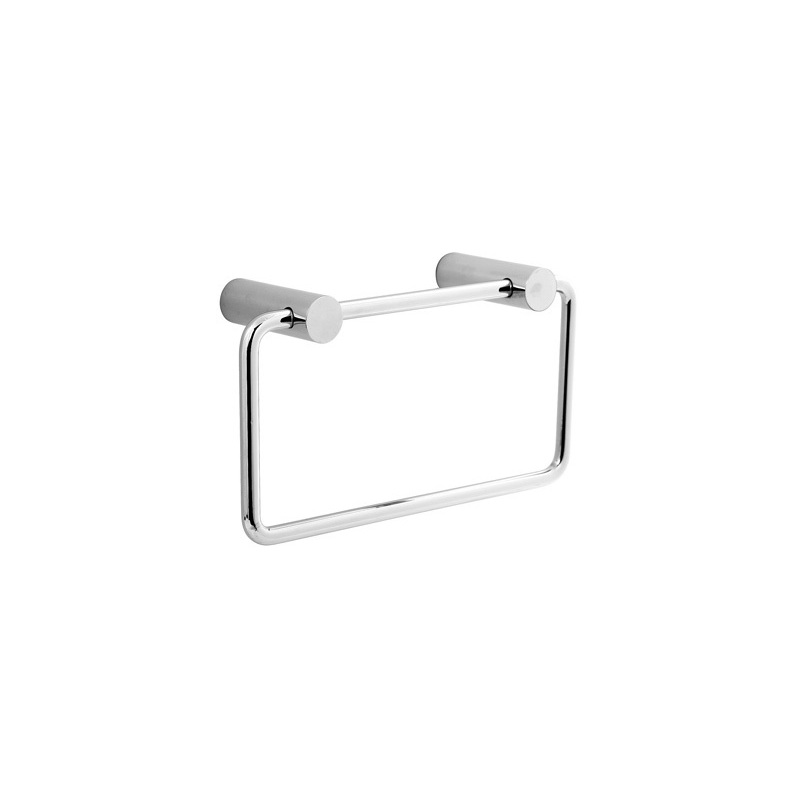 Cifial Straight Towel Ring Chrome