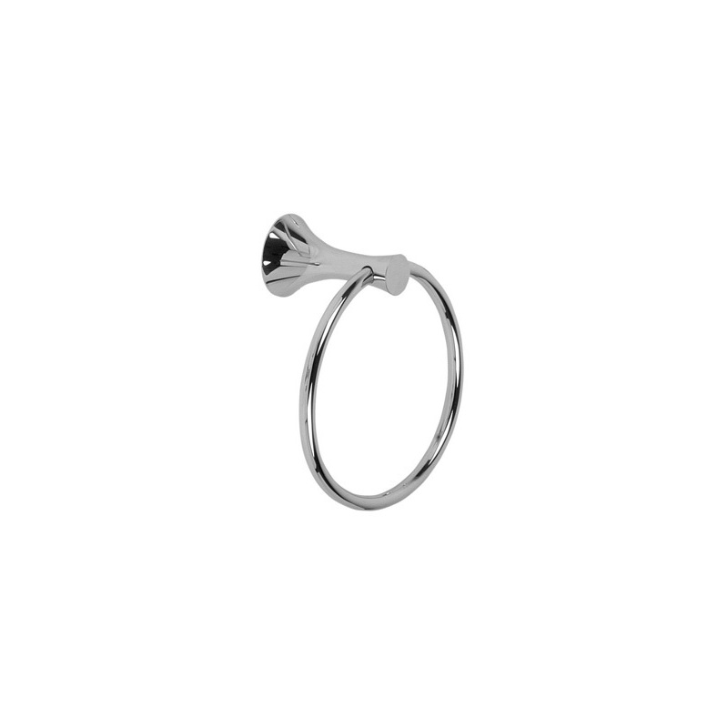 Cifial Brookhaven Towel Ring Chrome