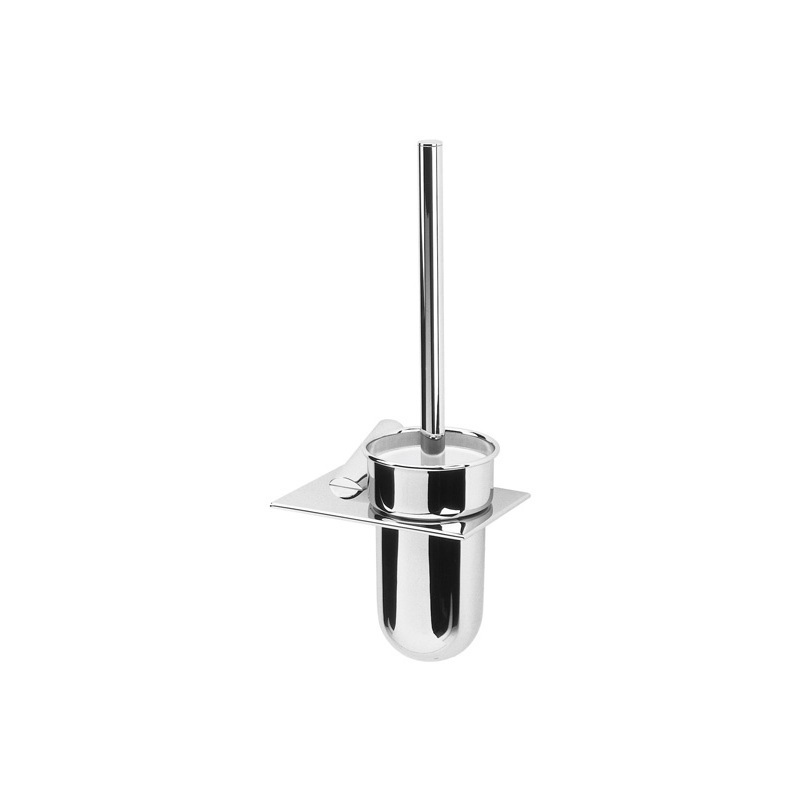 Cifial AR110 Metal Wall Mounted Toilet Brush Set Chrome