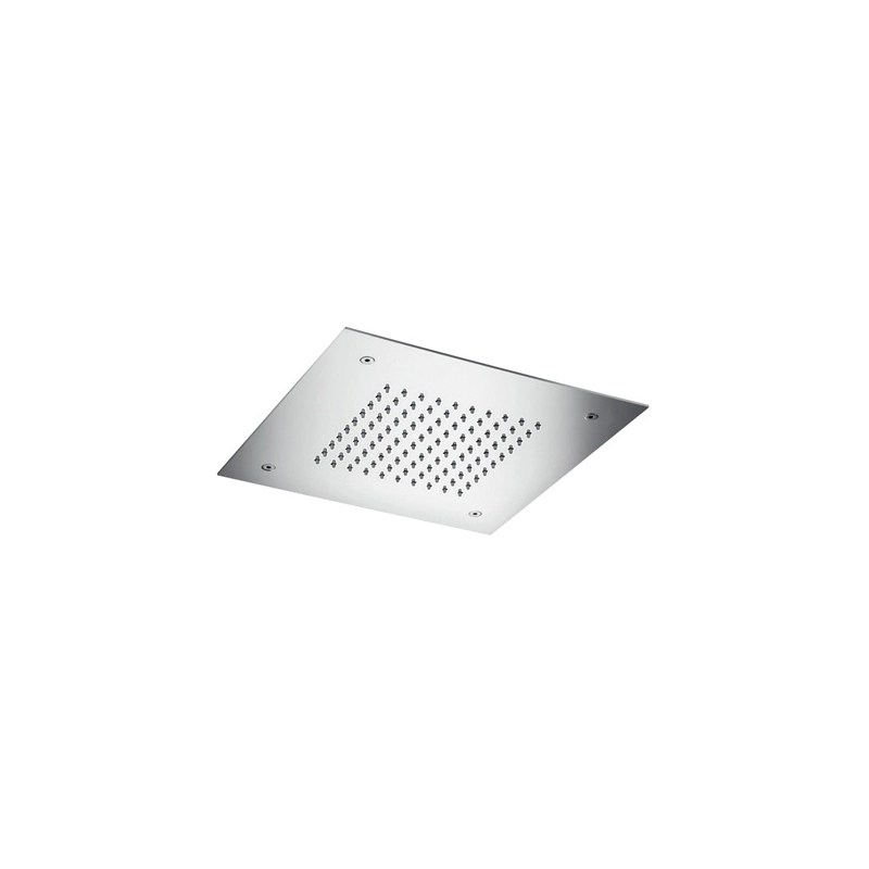 Cifial Concealed Square 300mm Shower Head Polished Steel