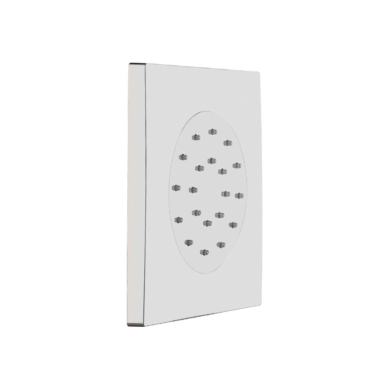 Cifial Square Concealed Body Jet Chrome