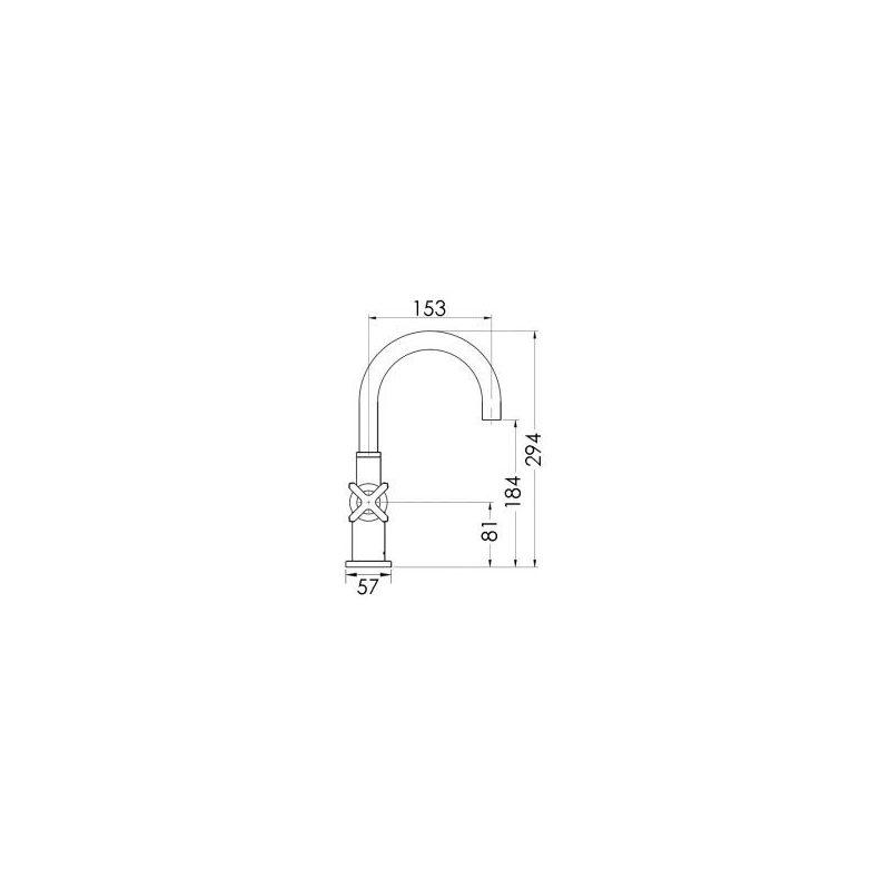 Cifial Texa Mono Basin Mixer
