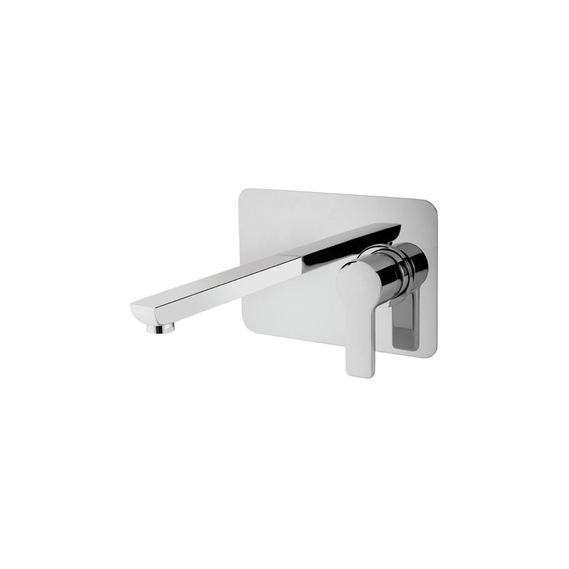 Cifial Coule 2 Hole Wall Basin Mixer Chrome