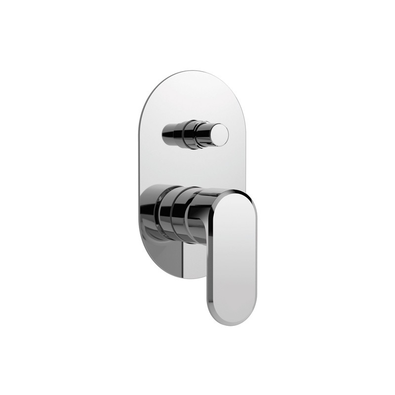 Cifial Emmie Concealed Manual Bath/Shower Mixer Chrome