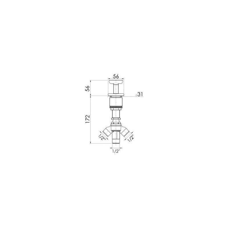Cifial Texa Deck Diverter