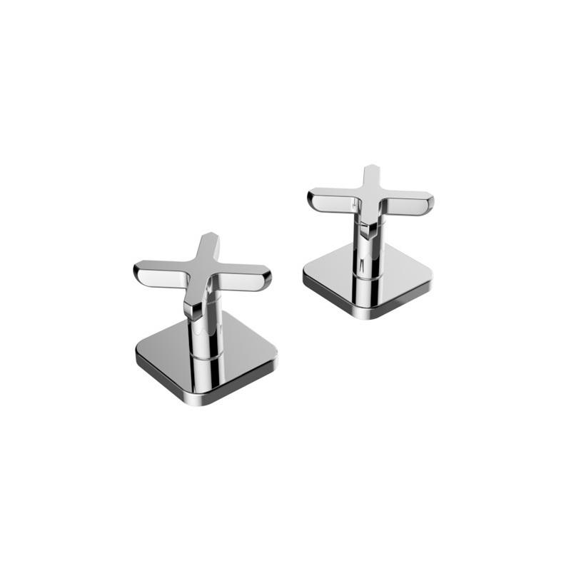 Cifial Texa Deck Bath Valves Pair