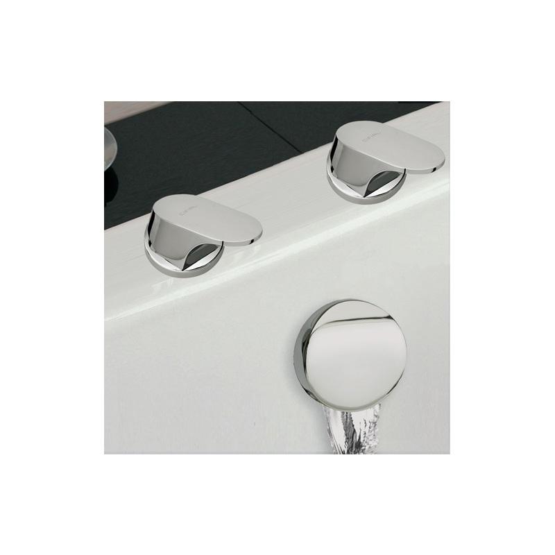 Cifial Adele Deck Valves & Aqua Filler Chrome