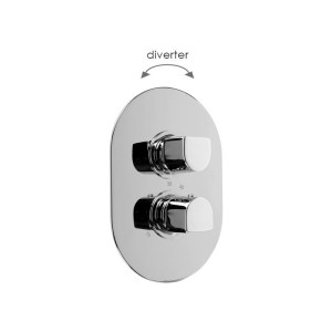 Cifial Emmie Thermostatic Shower Valve with Diverter