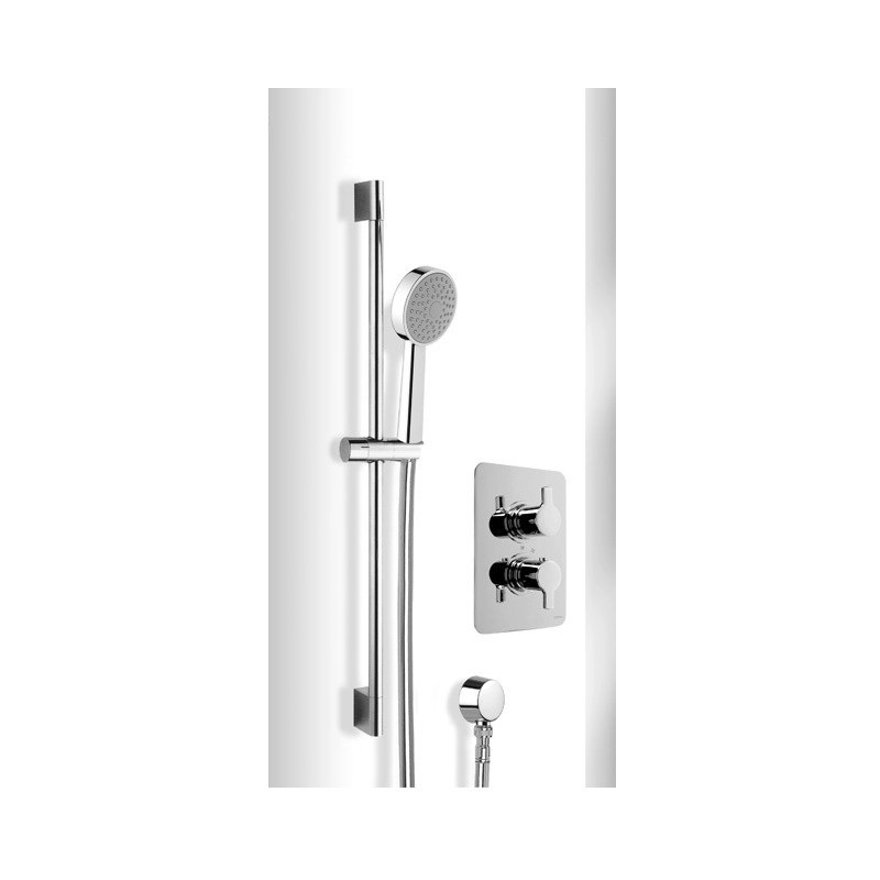Cifial Coule Thermostatic Flexi Shower Kit Chrome