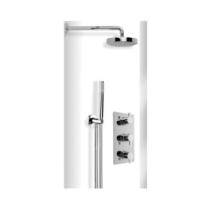 Cifial Coule Thermostatic Wetroom Kit Chrome
