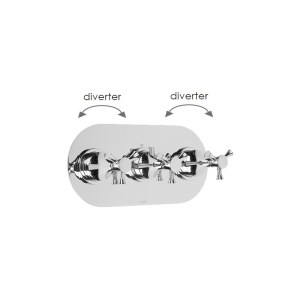 Cifial Brookhaven Cross Landscape Valve with Double Diverter