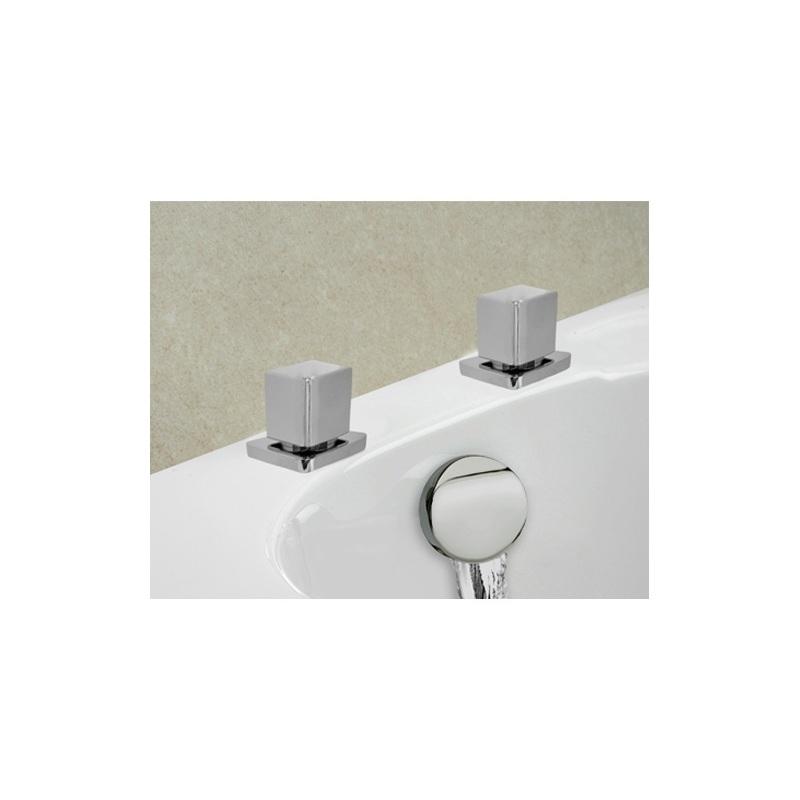 Cifial Cudo Thermostatic Deck Valves & Aqua Filler