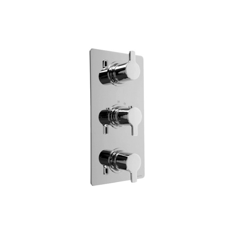 Cifial Coule 3 Control Thermostatic Valve Chrome
