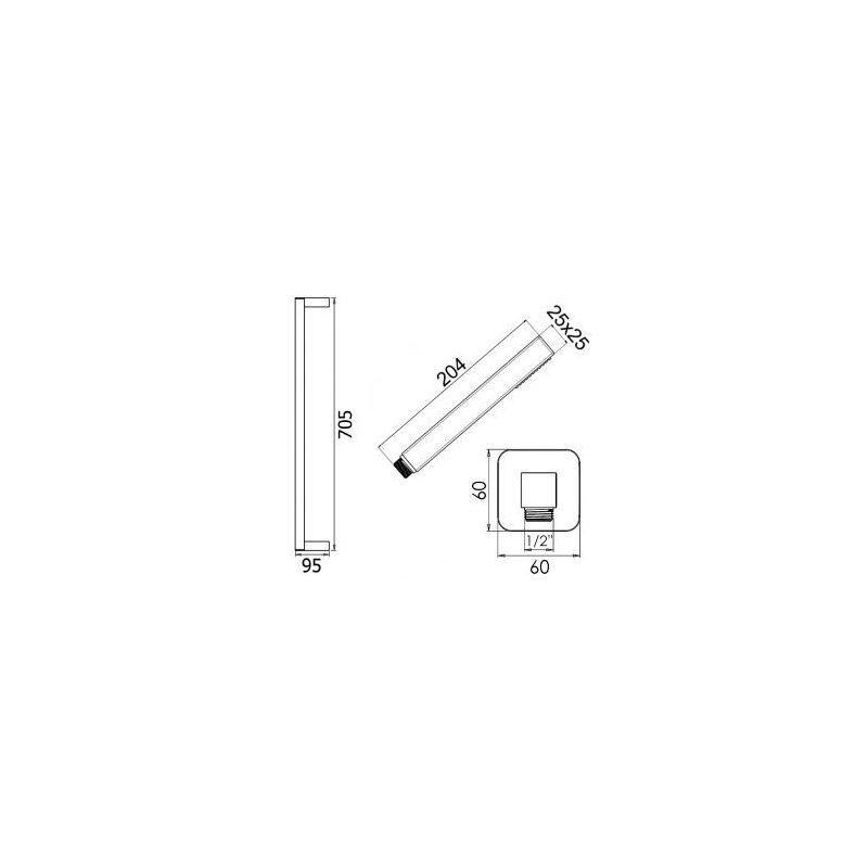Cifial Slim Flat Soft Flexi Slider Bar Kit