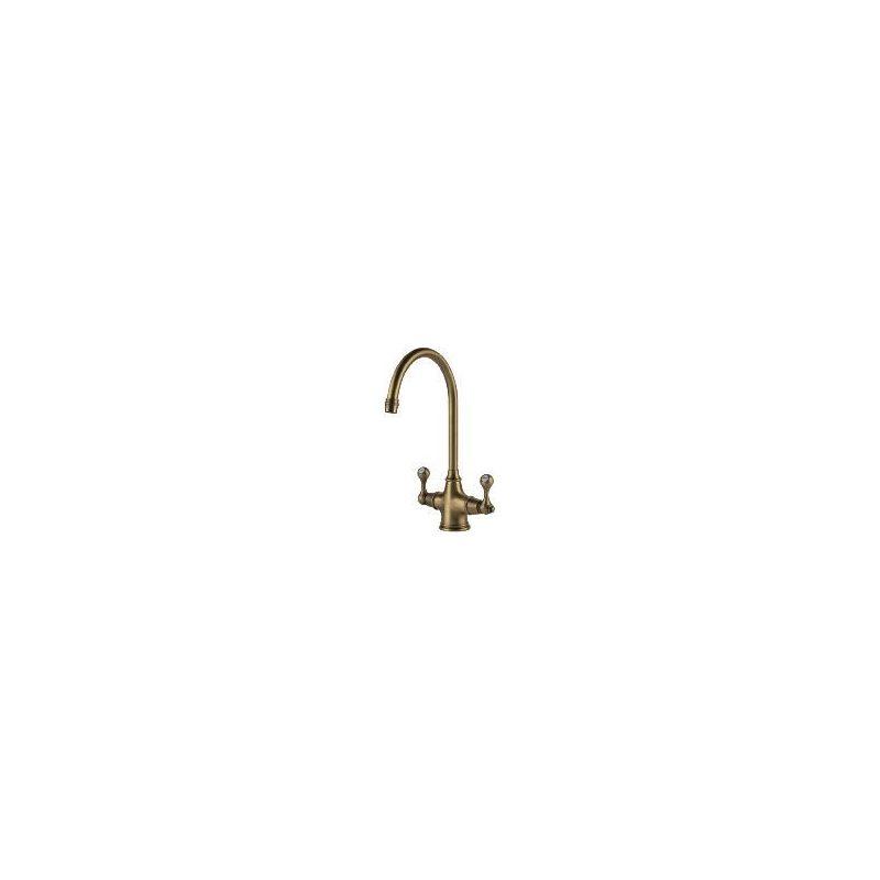 Clearwater Coriolis Mono Sink Mixer Brushed Bronze