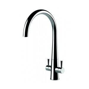 Clearwater Corona Kitchen Sink Mixer Brushed Nickel