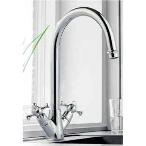 Clearwater Cottage Mono Sink Mixer with Swivel Spout Bronze