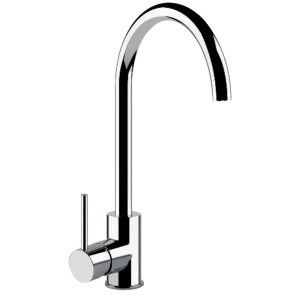 Clearwater Elara Compact Sink Mixer with Swivel Spout Chrome