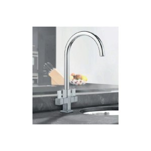 Clearwater Cherika Mono Sink Mixer with Swivel Spout Brushed