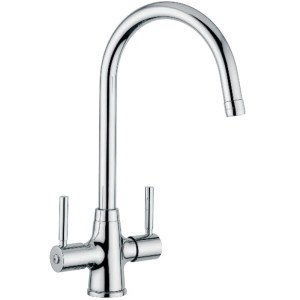 Clearwater Davenport Mono Sink Mixer with Swivel Spout Chrome