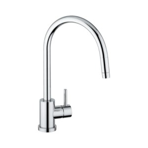 Clearwater Elmira Mono Sink Mixer with Pull-Out Aerator Chrome