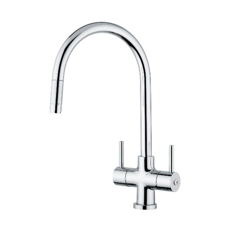 Clearwater Emporia Sink Mixer with Pull-Out Aerator Chrome