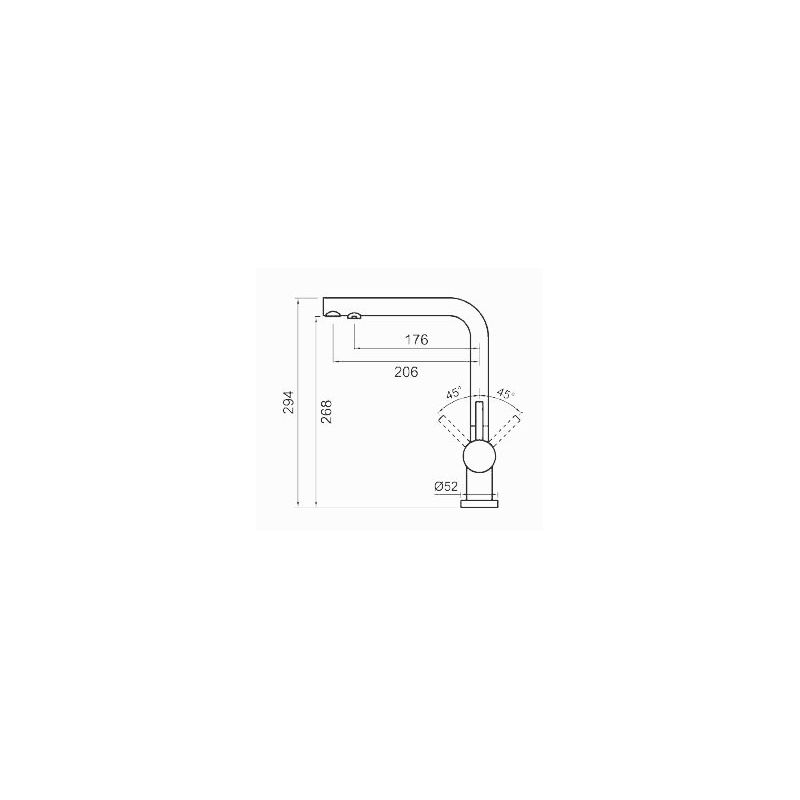 Clearwater Hydra Mixer & Cold Filter Tap Chrome
