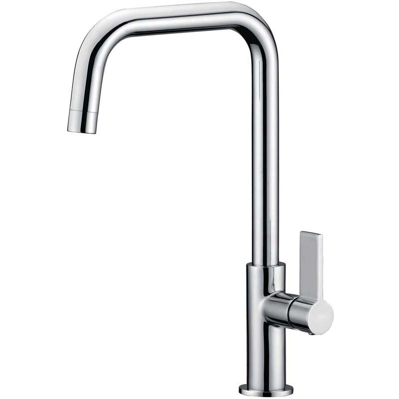 Clearwater Jovian Sink Mixer with U Spout Brushed Nickel