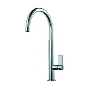 Clearwater Jovian Sink Mixer with C Spout Brushed Nickel