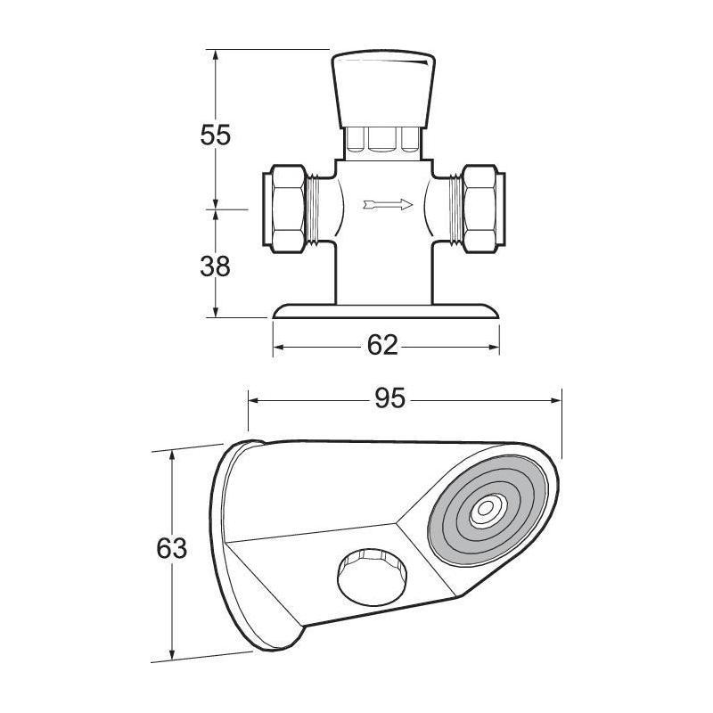 Deva Anti-Vandal Shower System