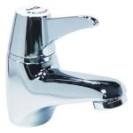 Deva Thermostatic TMV3 Sequential Lever Mono Basin Mixer