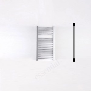 Essential Standard Towel Warmer Straight 690x450mm Chrome