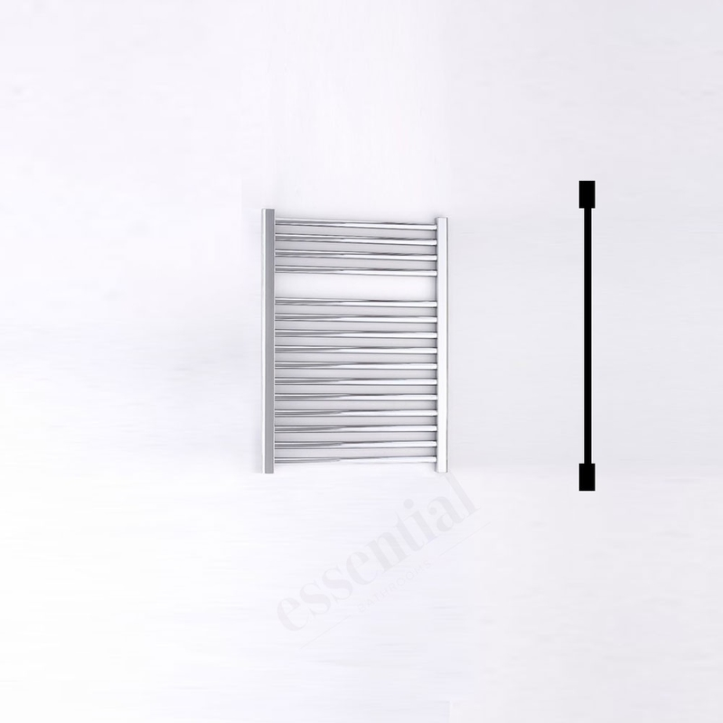 Essential Standard Towel Warmer Straight 690x500mm Chrome