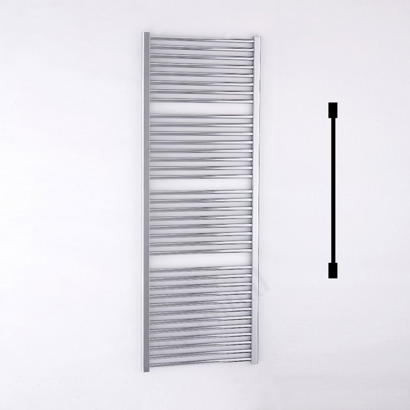 Essential Standard Towel Warmer Straight 1700x600mm Chrome