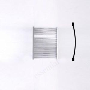 Essential Standard Towel Warmer Curved 690x600mm Chrome