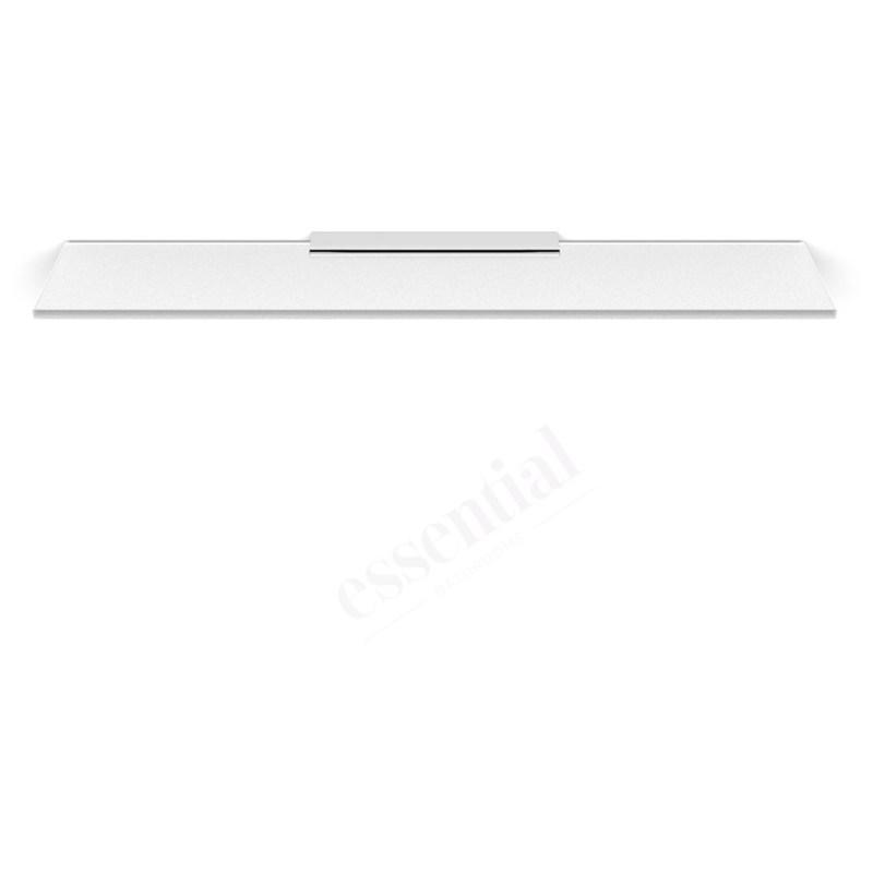 Essentials Urban Glass Shelf without Rail 600mm