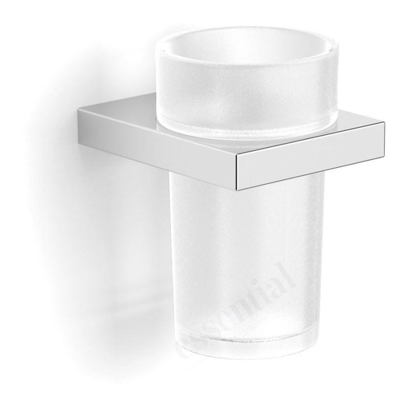 Essentials Urban Square Tumbler Holder with Glass