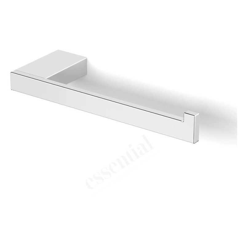 Essentials Urban Square Toilet Roll Holder without Cover Right