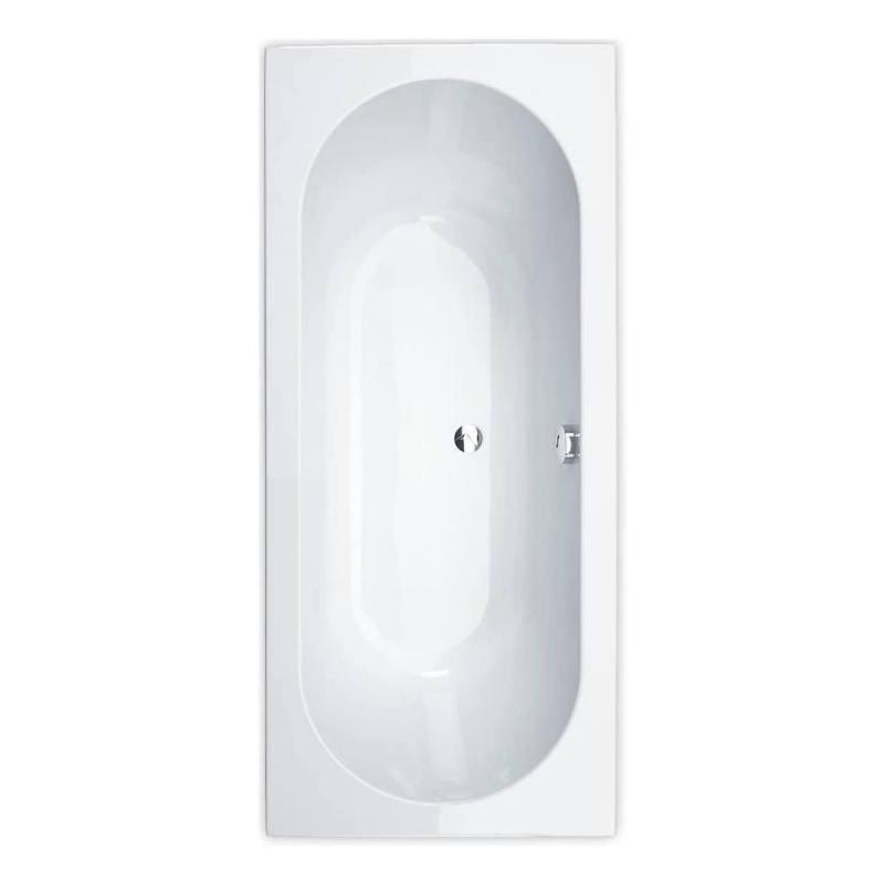 Essential Richmond Rectangular Double Ended Bath 1800x800mm