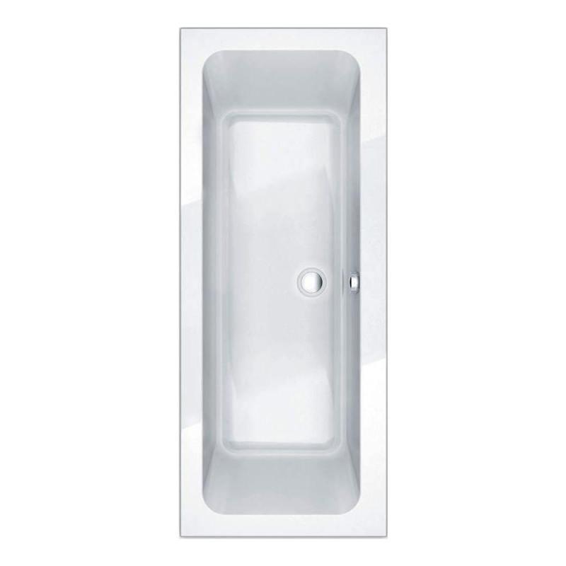Essential Islington Rectangular Double Ended Bath 1800x800mm