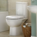 Essential Lily Close Coupled Pan & Cistern Pack No Seat White