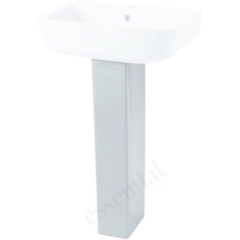 Essential Orchid Full Pedestal Only White