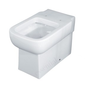 Essential Orchid Back To Wall Pan Only White