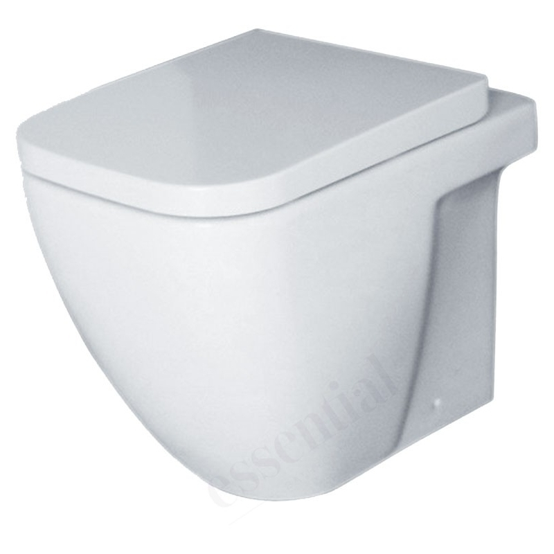 Essential Fuchsia Back To Wall WC Pan & Soft Close Seat