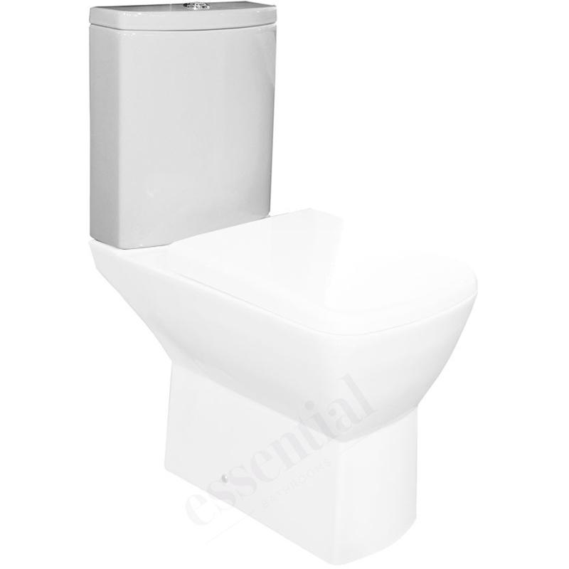 Essential Jasmine Close Coupled Dual Flush Cistern