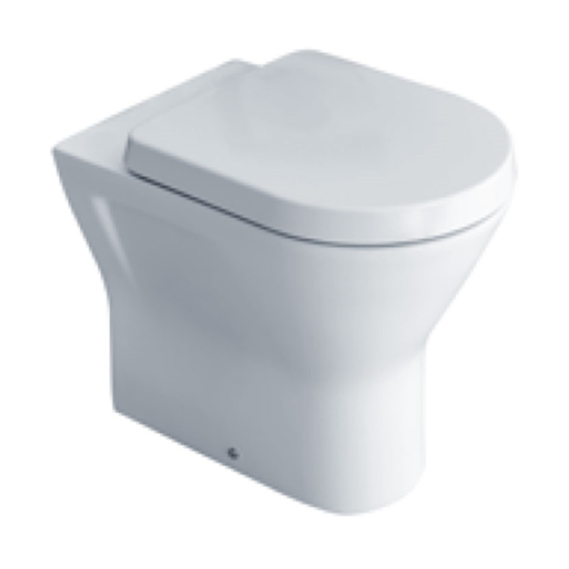 Essential Ivy Comfort 450mm Back To Wall Pan